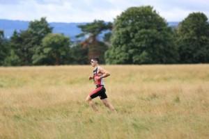 Kevin Thornton Irish triathlete running