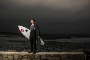 Gearoid McDaid irish surfer