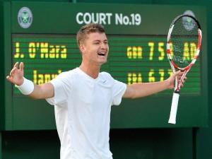 Jonny O'Mara junior tennis player