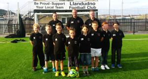 Llandudno FC Under 10's football team