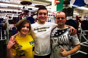 Paul, Hayley & Ryan Rutherford (Team Rutherford)- Powerlifting