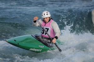 CAOIMHE O'FERRALL canoeing in Ireland