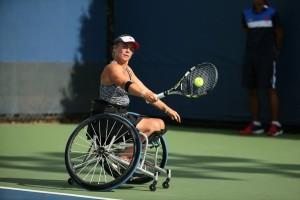 Lucy Shuker Paralympic Wheelchair Tennis Medallist