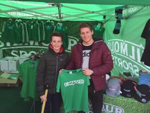 Irish hockey player Michael Robson, Olympic Hockey Fundraiser