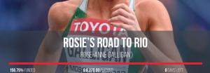 Rosie Galligan Runner Rio 2016 Olympics Self-Funding Campaign
