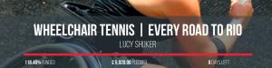 Lucy Shuker, British Wheelchair Tennis Player, Rio 2016 Paralympics Fundraiser