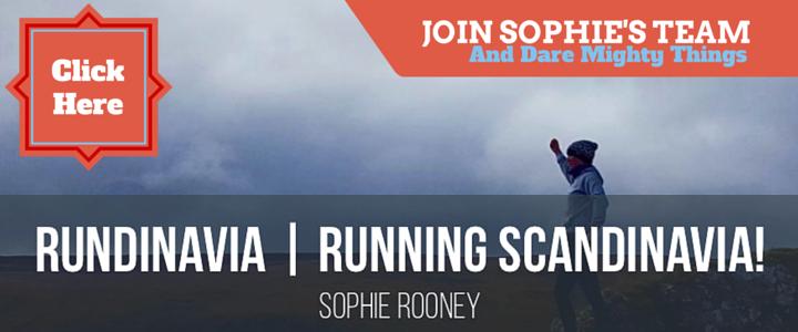 Sophie Rooney promo rundinavia ultra marathon