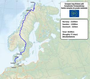 rundinavia ultra marathon route