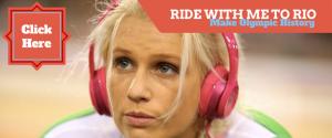 Irish track cyclist Shannon McCurley Crowdfunding to Rio 2016