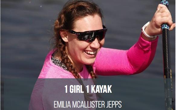 Emilia McAllister Jepps, Team GB sprint canoeist, crowdfunding for Tokyo 2020