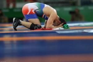 Iran's Hassan Rahimi wins bronze in Rio 2016 FS wrestling