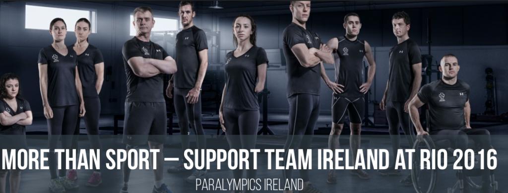 Team Ireland, Rio 2016 Paralympians