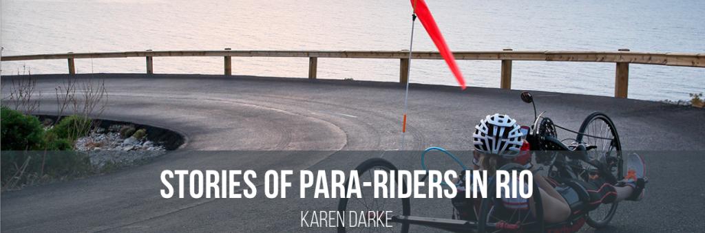 Karen Drake, Team GB Hand Cyclist, Rio 2016 Paralympian