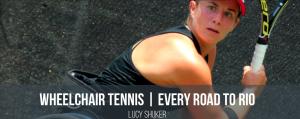 Lucy Shuker, Team GB Wheelchair Tennis Player, Rio 2016 Paralympian