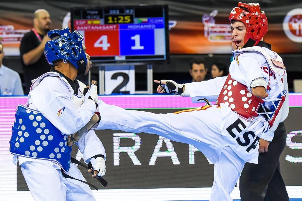 Para_Taekwondo_Kyorugi