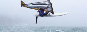 solo sports - windsurfing