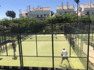 racket sports cardio